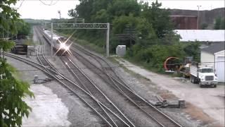 Trains around Lake County, Illinois, 23.06.12: Rondout, Grays Lake & Vernon Hills