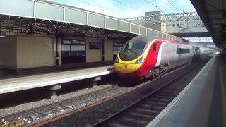Virgin Trains Flying From Birmingham New Street To London Euston