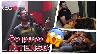 Carlos Ulises me invitó a la grabación de su 1er Disco - Vlog con Leo gallegos y Raul J