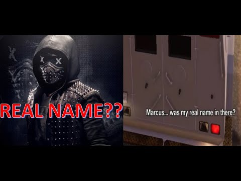 OMG!! Wrench's Real Name | The Name Game | Watch Dogs 2