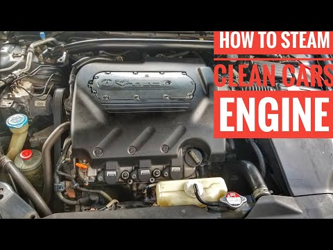 HOW TO STEAM CLEAN YOUR ENGINE BAY TUTORIAL