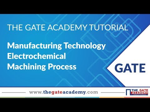 Electrochemical Machining Process | Manufacturing Engineering | ME