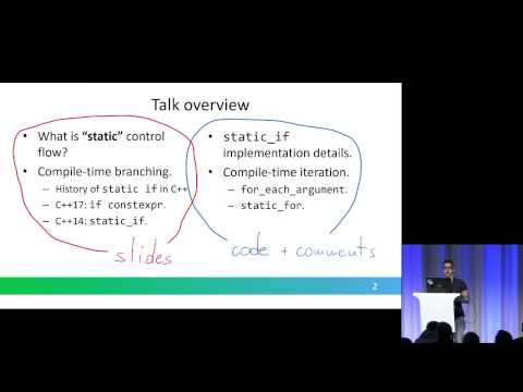 Implementing `static` control flow in C++14 - Vittorio Romeo - Meeting C++ 2016