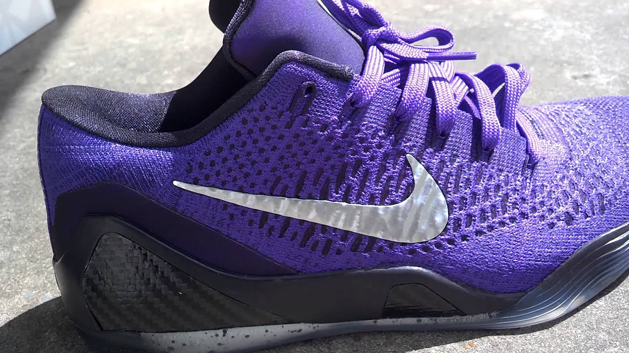 huge discount f7c7f 6e30e Nike Kobe 9 low elite