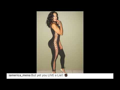 #EricaMena VS  #BowWow! #ShadMoss fight continues! #LHHNY Season 5 star shades #Transracial rapper!
