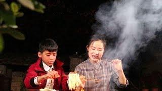 立冬了,生点儿火,烤点儿肉,喝点儿酒【滇西小哥】