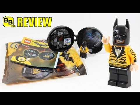 LEGO BATMAN MOVIE BATMAN BATTLE POD 5004929 POLYBAG REVIEW
