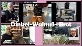 Dinkel-Walnussbrot mit Thermomix und Pampered Chef backen