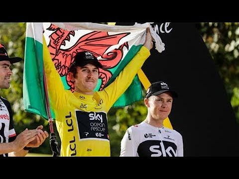 Geraint Thomas Wins the Tour de France for Team Sky