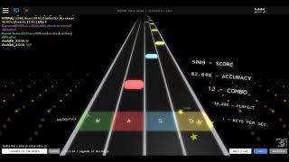 Rhythm track Roblox Legends of the rails easy mode