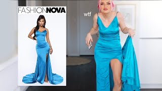 i spent way too much money on these fashion nova dresses