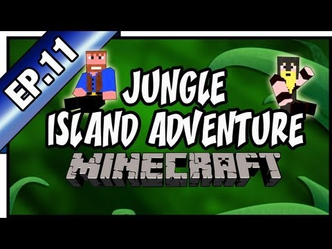 Minecraft: Jungle Island Adventure | Dumb And Dumber, Ep.11 Cool Cave Village,
