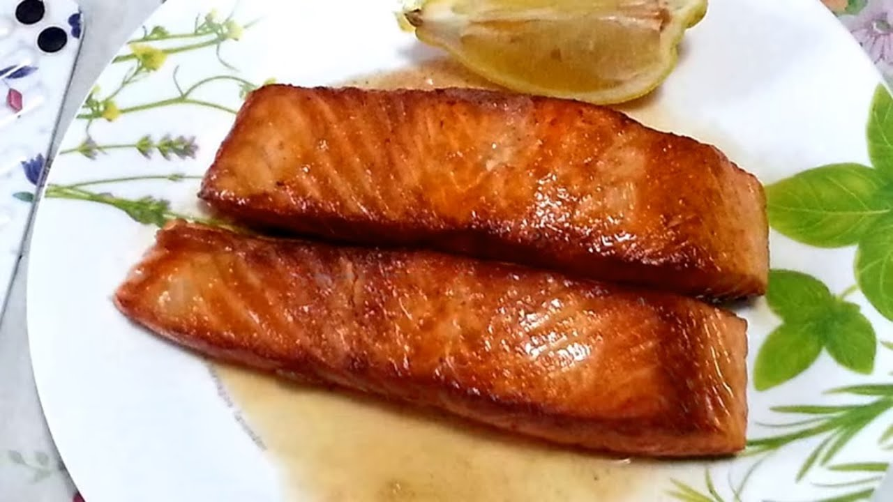 Pan fried salmon with lemon recipe international food recipe pan fried salmon with lemon recipe international food recipe popular foods forumfinder Images