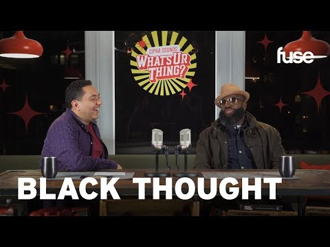 Cipha Sounds What's Ur Thing: Black Thought Talks The Roots & Freestyles With Dave Chappelle Ad Libs