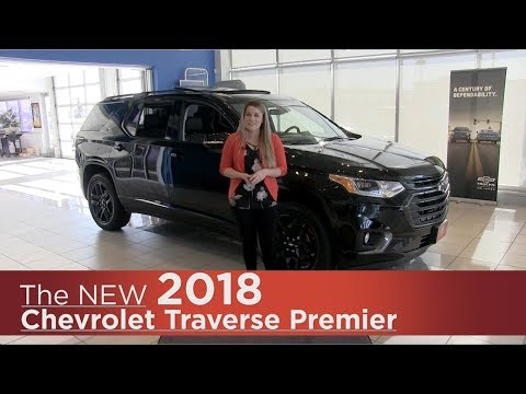 All New 2018 Chevrolet Traverse Premier - Mpls, St Cloud, Monticello, Buffalo, Rogers, MN - Review