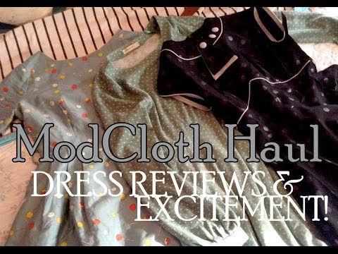 ModCloth Haul: Dress Reviews and Excitement!