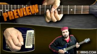 Heer Guitar Lesson by Salman Ahmad (Junoon) (PREVIEW)