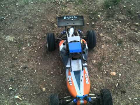1/5 scale rc car hsp bajer/ hrc baja-R 5B Buggy Redcat Dune Runner burnouts drag racing 04