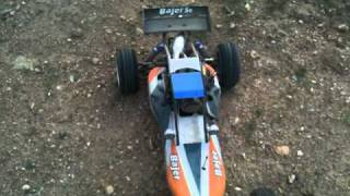 1 5 scale rc car hsp bajer hrc baja r 5b buggy redcat dune runner burnouts drag racing 04