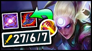 I'VE BEEN PLAYING DIANA JUNGLE WRONG! This build does TOO MUCH DAMAGE! (seriously, it's ridiculous)
