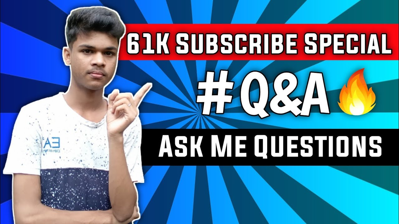 61K Subscribe Special Q&N 🔥 Ask Me Questions||Tech Ginuk