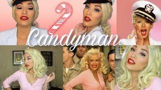 Christina Aguilera Candyman Music Video Makeup Tutorial | Back to Basics feat. FESHFEN
