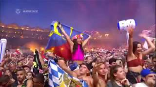 safri duo played a live nwyr remix by tiësto at tomorrowland 2017