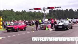 VW MK2 beat AUDI R8/ AUDI TT RS/ DODGE CHALLENGER/ DODGE CHARGER