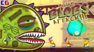 Инопланетный СЛИЗНЯК МУТАНТ СЪЕЛ РЫБАКОВ! Приключение космической слизи в игре Mutant Blobs Attack