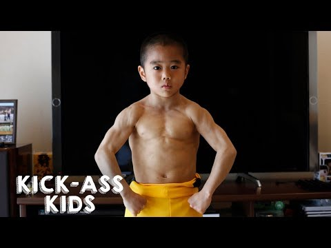 Meet The Mini Bruce Lee | KICK-ASS KIDS