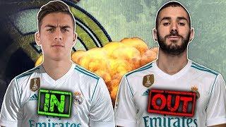 Real Madrid Should Replace Karim Benzema With Paulo Dybala Because... | #SundayVibes