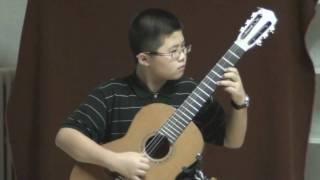 Andantino Variations - N. Paganini