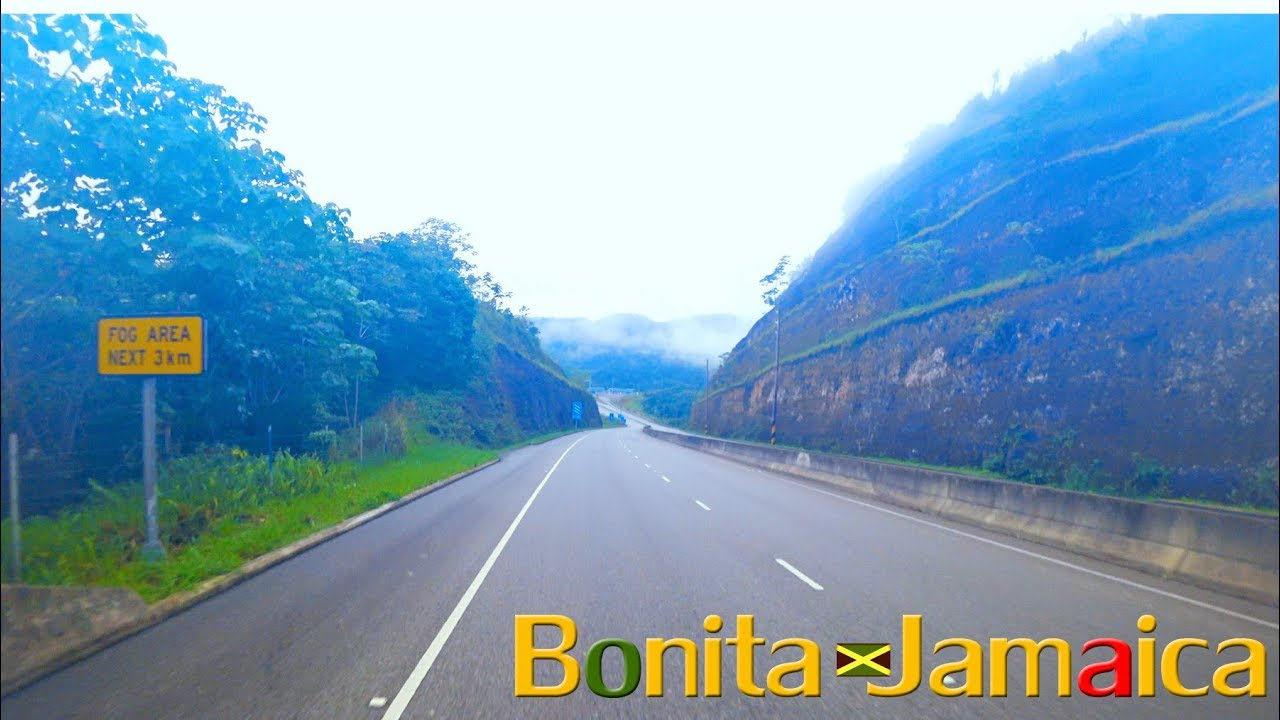 Foggy Jamaican Highway Youtube