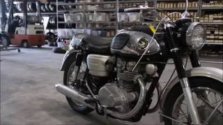 1967 Honda Black Bomber K0 CB 450 Used Parts
