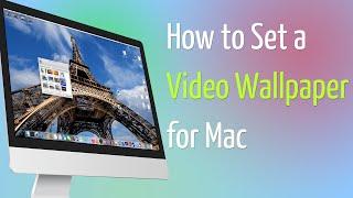 كيفية تعيين خلفية الفيديو لماك