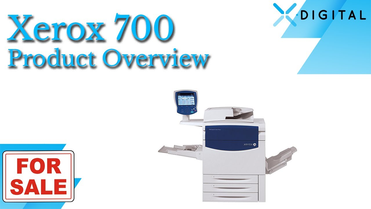 Color press printing - Xerox 700 Digital Color Press For Sale Youtube