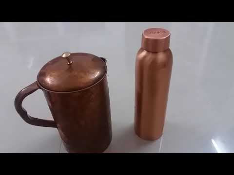 Values of copper vessel water and medicinal properties