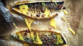 Скумбрия с чесноком и паприкой - рецепт от Гордона Рамзи.