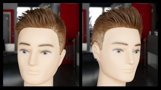 Men's Haircut Tutorial - Step by Step Fade & Haircut - TheSalonGuy