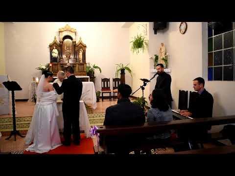 Meu casamento - Aleluia(Hallelujah) / Cantor: José Augusto Zelenski/ Pianista: Anderson Zelenski