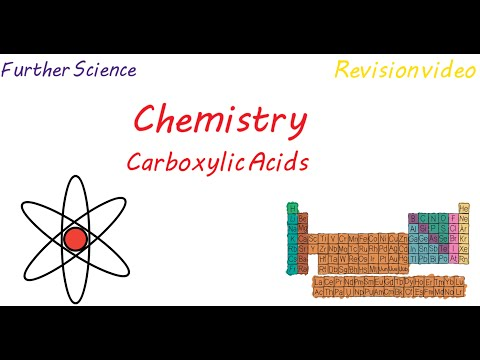 C3: Carboxylic Acids (Revision)