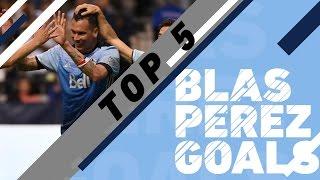 Top 5 Blas Perez goals