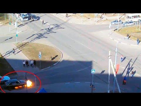 Происшествие в Серпухове. Тракторист спас от пожара автомобиль... 13 апреля 2018г.