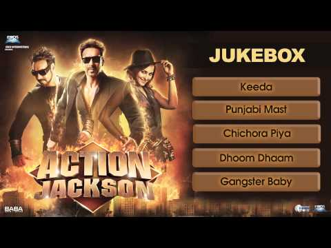 Action Jackson Jukebox 1 (All Songs)