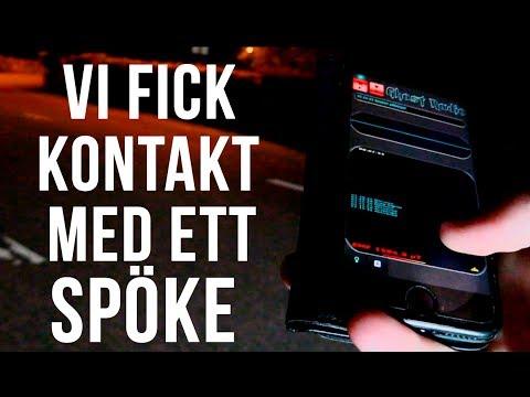 Vi fick kontakt med ett SPÖKE! -  Besöker kyrkogårdar - Ghost Radio