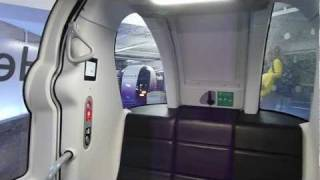 NEW Heathrow POD cars - full ride from London Heathrow  Airport