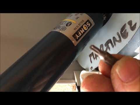 Comment Remplacement Le Condensateur Du Moteur D Un Volet Roulant Electrique Youtube