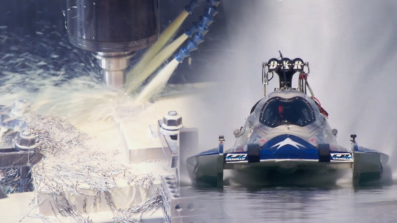CNC Machining Components for The Fastest Boat in the World - TV Episode