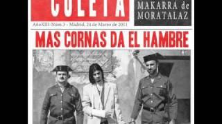 El Coleta - Coleta imperator mundi (intro) 2011 - Mas cornas da el hambre