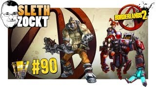 Lets Play Borderlands 2 Together #90 - Psycho Krieg & Mechromancer Gaige - Season Pass DLCs [LPT/DE]